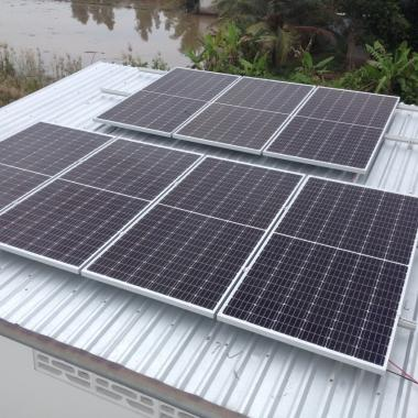HT điện năng lượng mặt trời 10KWP